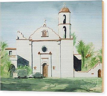 Mission San Luis Rey  Wood Print by Kip DeVore