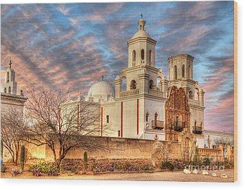 Mission San Xavier Del Bac 2 Wood Print