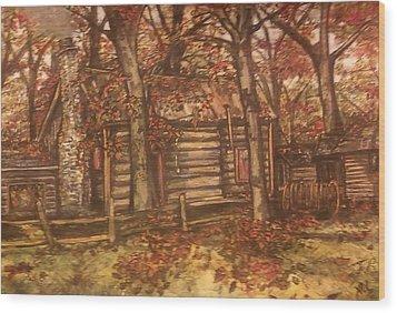 Missouri Compromise Wood Print