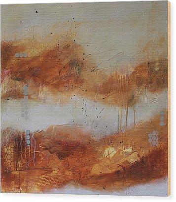 Mist #1 Wood Print by Lauren Petit