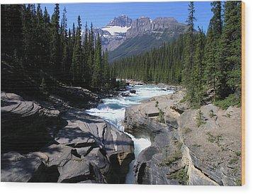 Mistaya Canyon Trail Wood Print