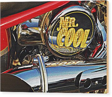 Mister Cool  Wood Print by Chris Berry