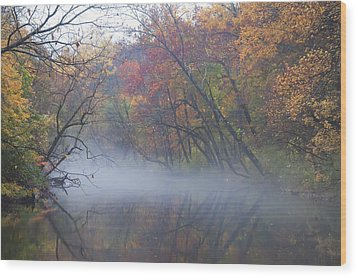 Mists Of Time Wood Print by Bill Cannon