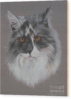 Misty Wood Print by Joanne Simpson