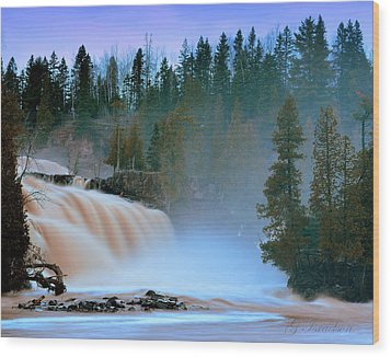 Wood Print featuring the photograph Misty Morning by Gregory Israelson