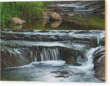 Miykovska River 1 Wood Print by Art Mccaffrey
