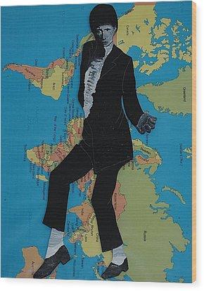 Mj Billie Jean Wood Print
