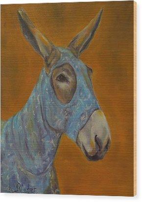 Mo Vision,donkey Wood Print
