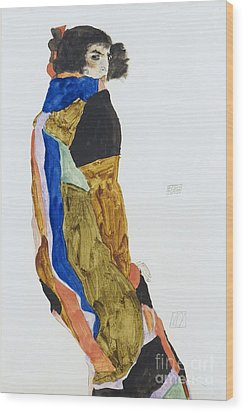 Moa - The Dancer Wood Print by Pg Reproductions