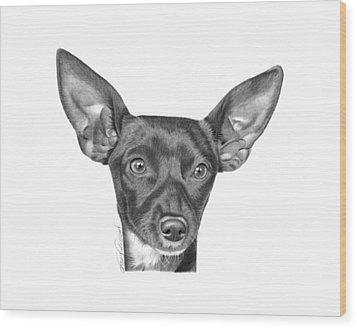 Mocha -036 Wood Print by Abbey Noelle