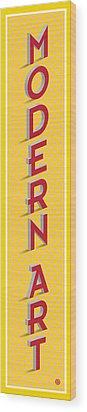 Modern Art Wood Print by Gary Grayson