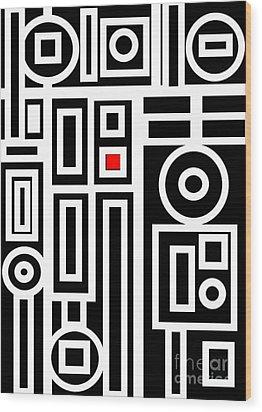 Modern Vibe 7 Wood Print