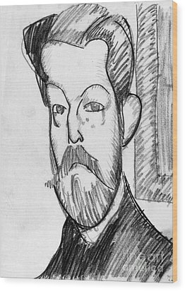 Modigliani - Paul Alexander Wood Print by Granger