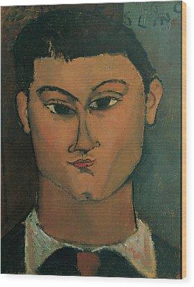 Modigliani Amedeo, Portrait Wood Print by Everett