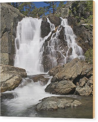 Modjesku Falls Wood Print