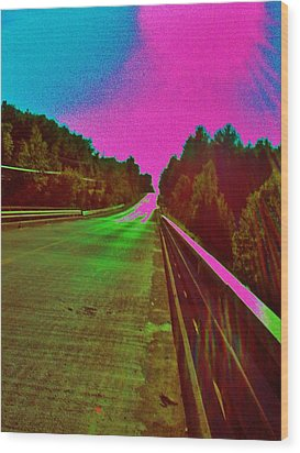 Wood Print featuring the photograph Moffit Bridge And Maple Ridge Rd. by Daniel Thompson