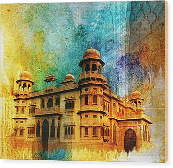 Mohatta Palace Wood Print by Catf