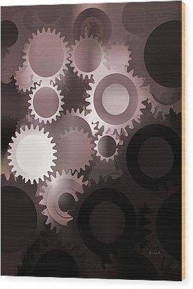 Mojo Synchronicity Wood Print by Bob Orsillo
