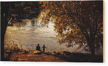 Moments To Remember Wood Print by Bob Orsillo