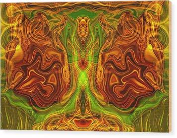 Monarch Butterfly Wood Print by Omaste Witkowski