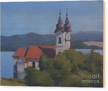 Monastery Of Tihany Wood Print