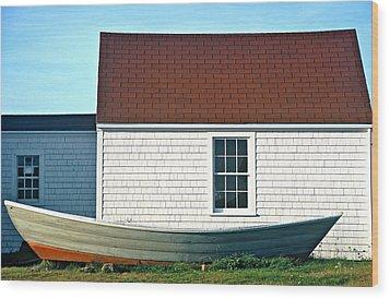 Monhegan Museum2 Wood Print