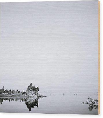 Still Waters Run Deep Wood Print by Shaun Higson