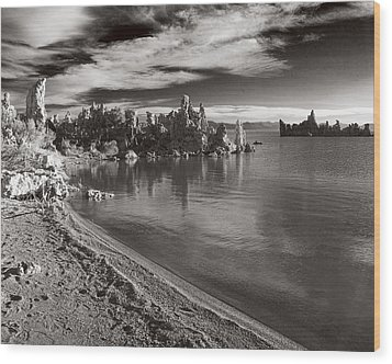 Mono Lake South Towers Wood Print