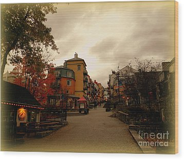 Wood Print featuring the photograph Mont Tremblant by Elfriede Fulda
