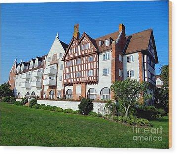 Montauk Manor Wood Print