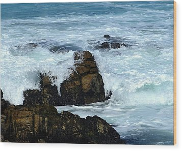 Monterey-2 Wood Print by Dean Ferreira
