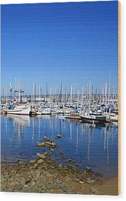Monterey-7 Wood Print by Dean Ferreira