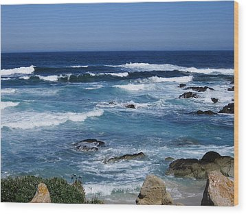 Wood Print featuring the photograph Monterey-9 by Dean Ferreira