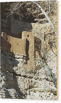 Wood Print featuring the photograph Montezuma's Castle by Kerri Mortenson