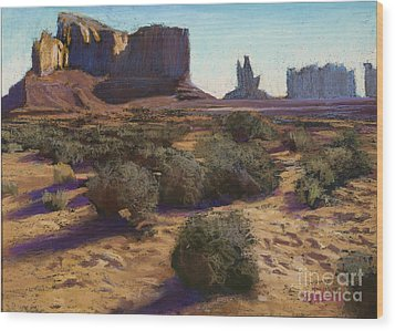 Monument Valley Wood Print by Dave Holman