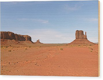 Monument Valley Navajo Tribal Park Wood Print by Christine Till