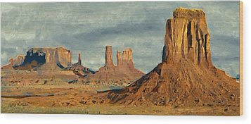 Monumental Wood Print by Jeff Kolker