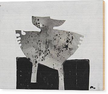 Monumentum No 3 Wood Print by Mark M  Mellon