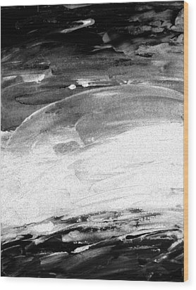 Moods Of Nature 2 Wood Print by Lenore Senior
