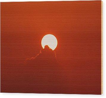 Moon Light Wood Print by Athala Carole Bruckner