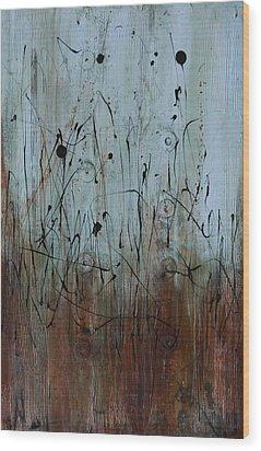Moon Lit Wood Print by Lauren Petit