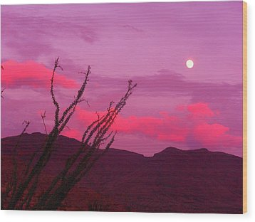 Moon Of The West Wood Print