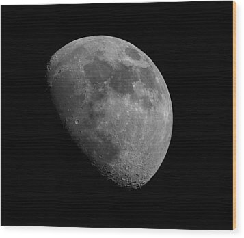 Wood Print featuring the photograph Moon Phase by Dennis Bucklin