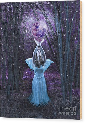 Moondance Wood Print by Tammy Collins