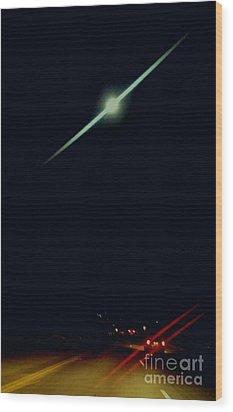 Moondate Wood Print