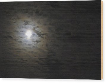Wood Print featuring the photograph Moonlight by Marilyn Wilson