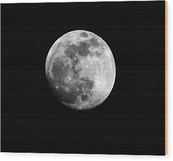 Moonlit Dreams Wood Print by Chris Fraser