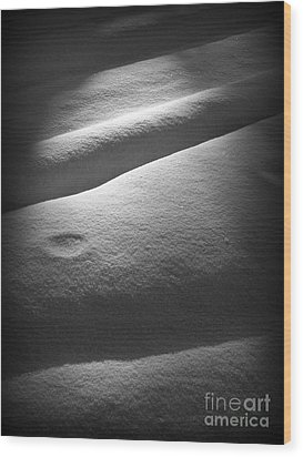 Moonscape Wood Print by C Ray  Roth