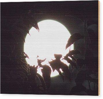 Moonshine 15 Flying Sea Horse Pt2 Wood Print
