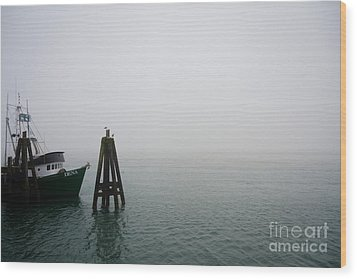 Wood Print featuring the photograph Moored by CML Brown